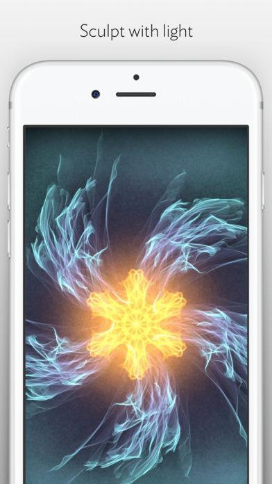 Silk 2 – Interactive Generative Art Screenshot