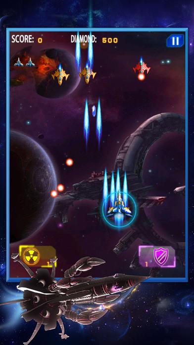 Sky Shooter Space Fleet Pro Screenshot