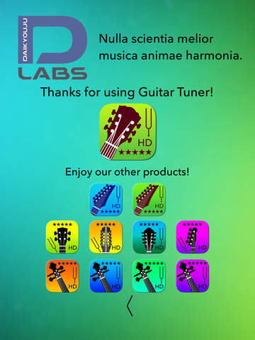 Guitar Tuner Pro - Tune your guitar with precision and ease! Screenshots