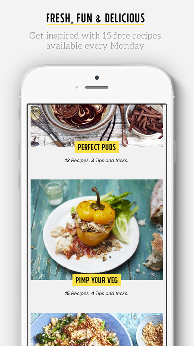 Jamie Oliver's Recipes Screenshots