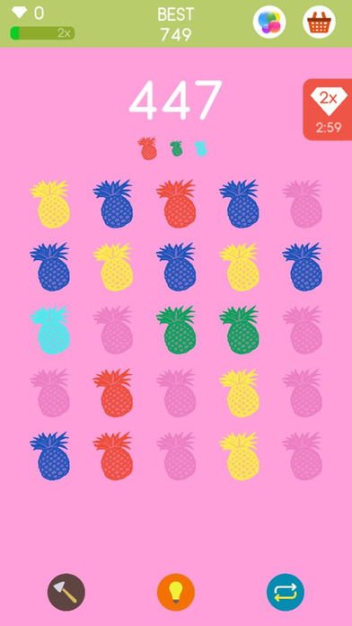 Squares a game about matching colors app download for Paint color matching app