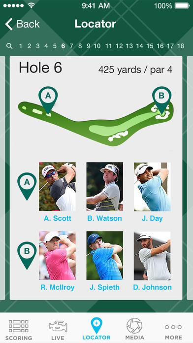 PGA Championship iPhone Screenshot 5