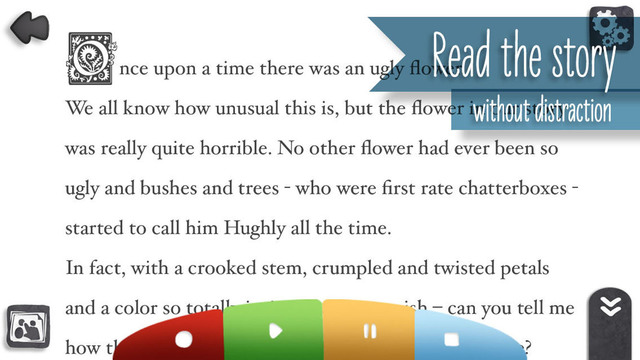 Hughly, the flower that wanted to grow Book! The Read Along Educational App for Children, Parents and Teachers Screenshots