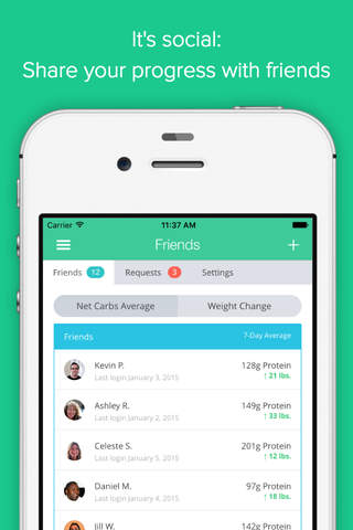Carb Manager: Keto Diet App screenshot 3