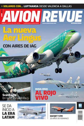 Avion Revue Internacional (España/Europa) - La revista de aviación líder en castellano screenshot 1