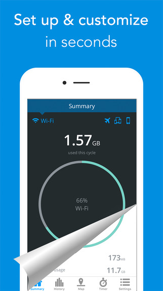 My Data Manager – Track your mobile data usage and save money Screenshots