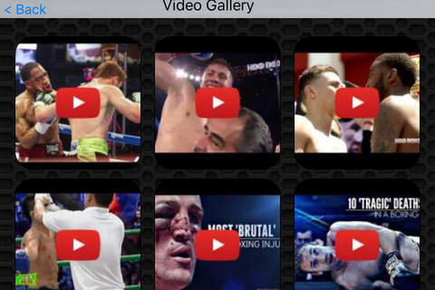 Boxing Photos and Video Galleries FREE screenshot 2