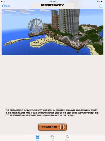 Best Maps for Minecraft  - Download Mine Maps for Pocket Edition Screenshots