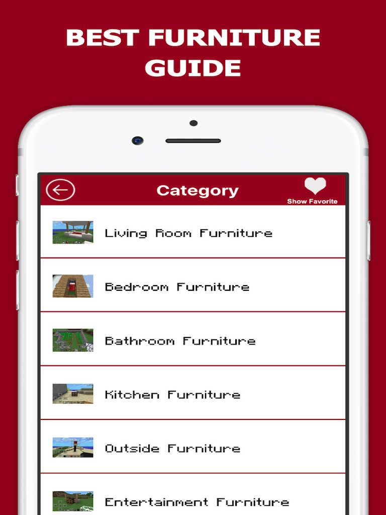 App Shopper Furniture Guide For Minecraft Pe Pc Reference
