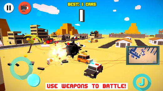 Drifty Dash  - Smashy Wanted Crossy Road Rage - with Multiplayer Screenshot