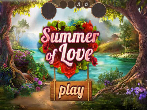 Summer of Love - Hidden Objects Game Screenshots
