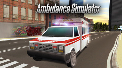 Ambulance Driving Simulator 3D Full screenshot 1