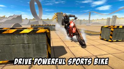 Crazy Bike Stunt Racing 3D Full screenshot 2