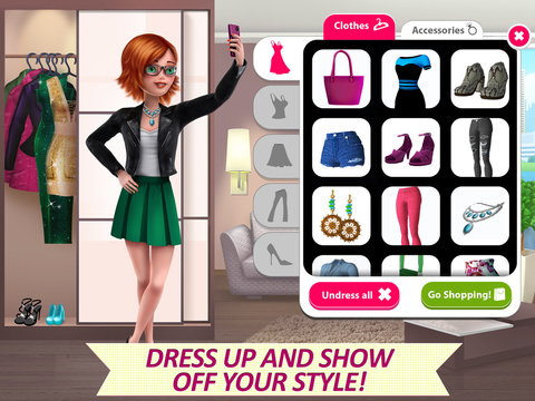 Скриншот из It Girl Story - Styling, Fashion & Celebrity Life