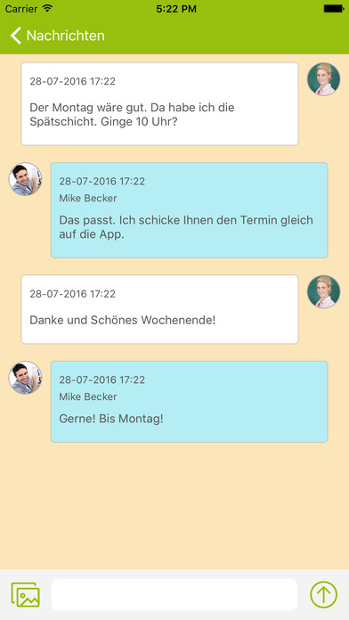 Bauverein Friemersheim direkt screenshot