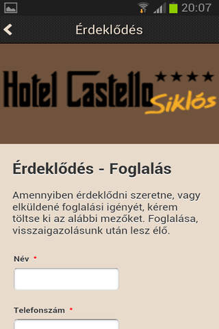 Hotel Castello screenshot 4