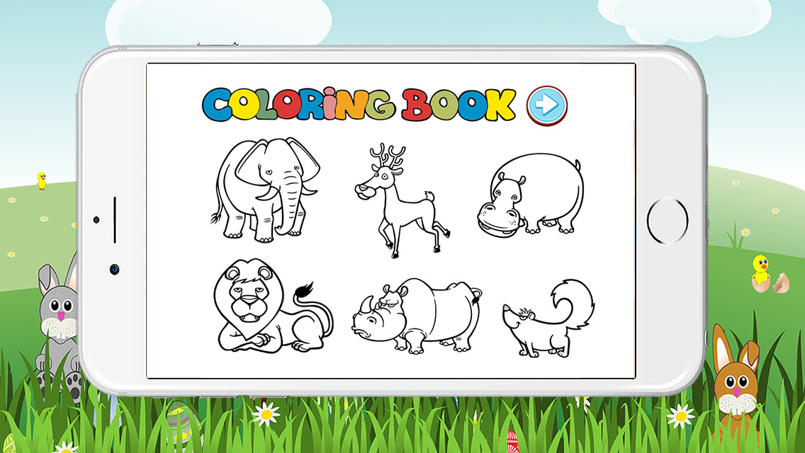 coloring pages online animals games - photo#34