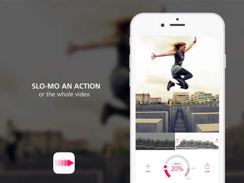 Screenshots of Slo Mo Video - Slow Motion Vid Speed Editor for YouTube and Instagram for iPad