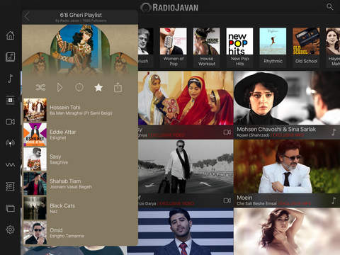 how to download music from radio javan