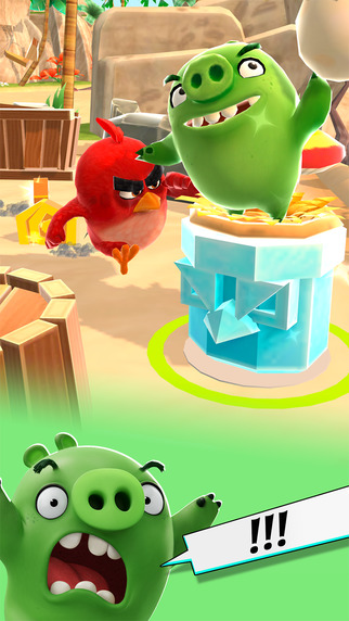 Angry Birds Action! Screenshots