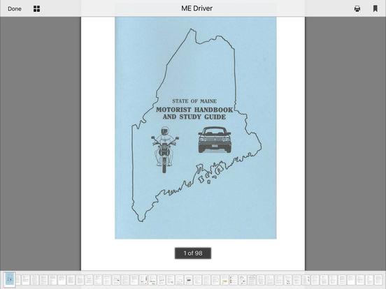 DMV Test Prep - Maine iPad Screenshot 5