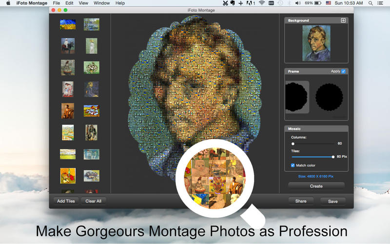 iFoto Montage Screenshot - 1