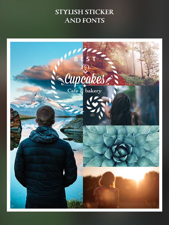 Simple Collage – Picture collage, camera effects plus photo editor Screenshots