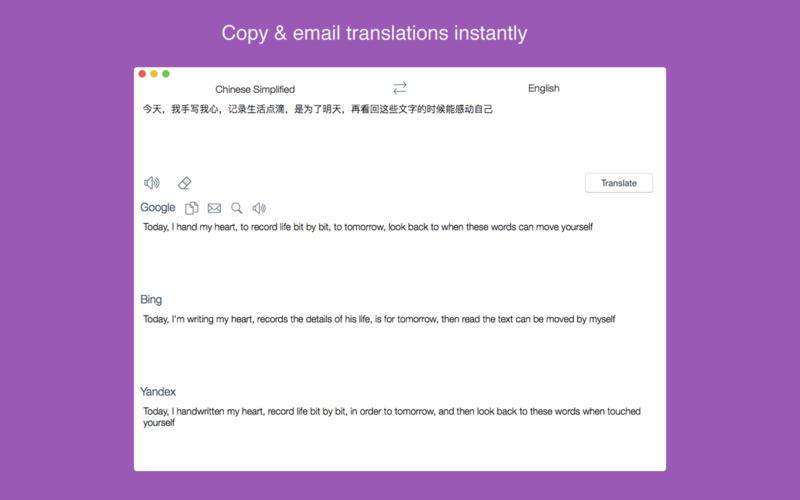 Combo Translator - All Major Translators In One App Screenshots