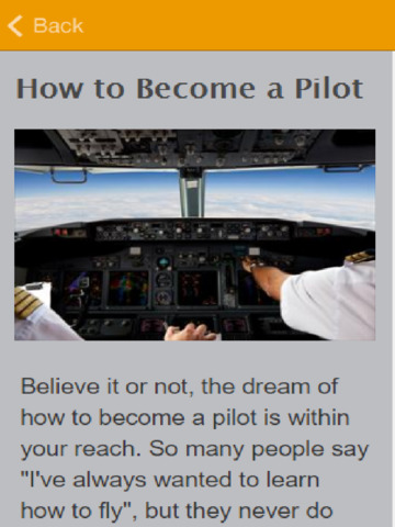 becoming a pilot People who searched for become a licensed commercial pilot: step-by-step career guide found the articles, information, and resources on this page helpful.