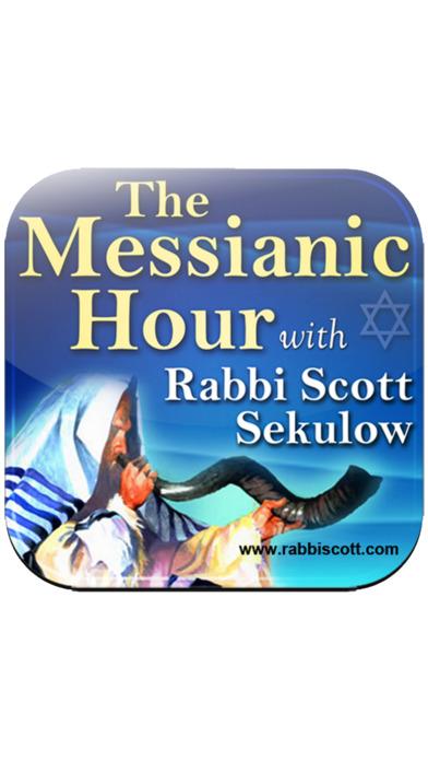 The Messianic Hour With Rabbi Scott Sekulow iPhone Screenshot 1