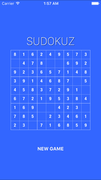 Sudokuz - Enter the numbers Screenshots