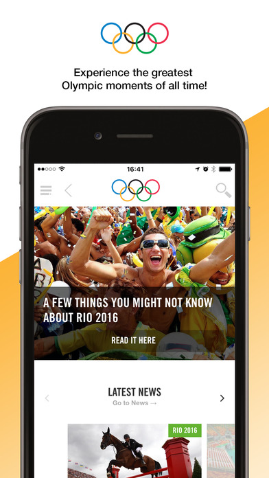 screen696x696 8 apps for iPhone, iPad to Watch the Olympic Games Rio 2016