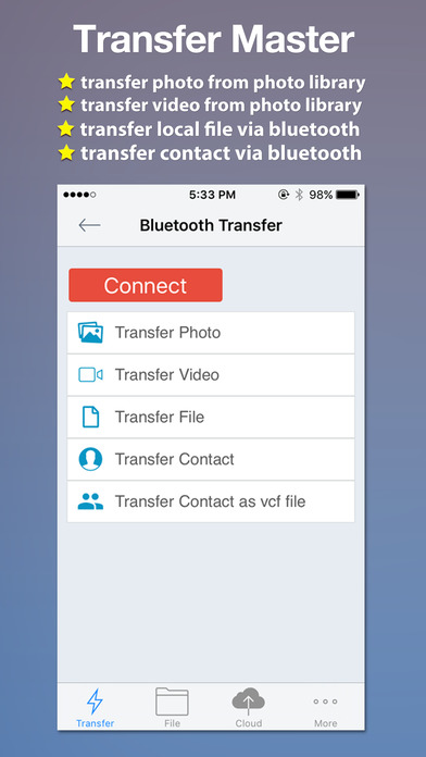 Transfer Master -Transfer photo,video,file,contact Screenshots