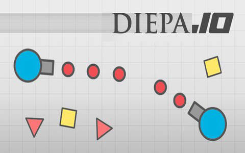 Tank war for Diepa.io screen