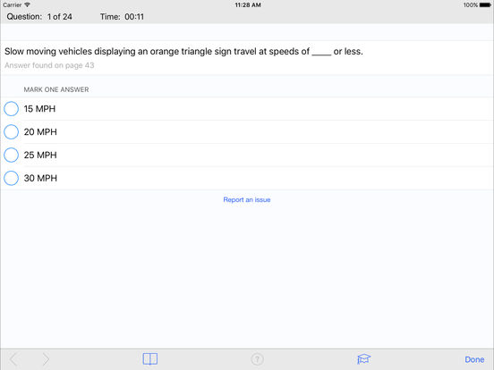 DMV Test Prep - Indiana iPad Screenshot 3
