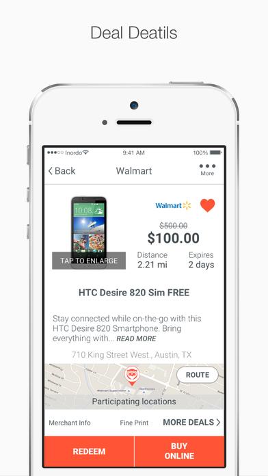 Skout Deals - Find Incredible Deals Near You! screenshot
