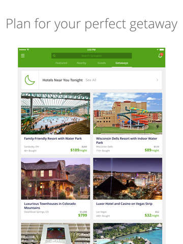 Groupon - Deals, Coupons & Shopping: Discounts on Local Restaurants, Events, Hotels, Yoga & Spas Screenshots