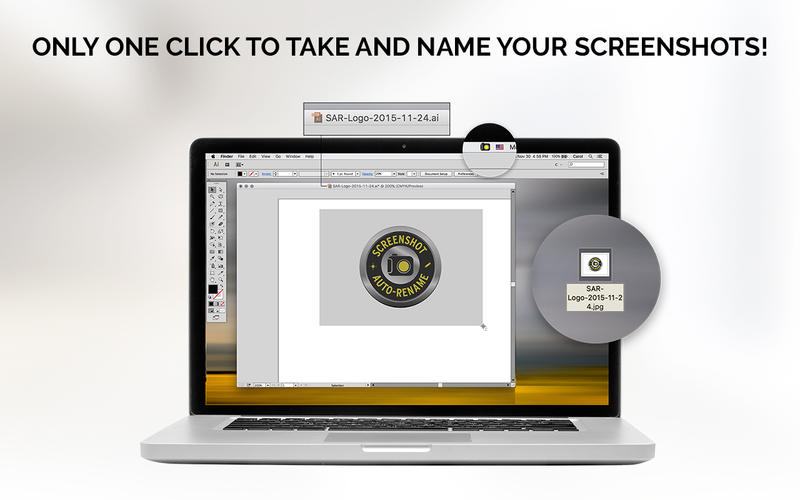 Screenshot Auto-Rename for Mac - Take Full Control of Your Screenshots Image