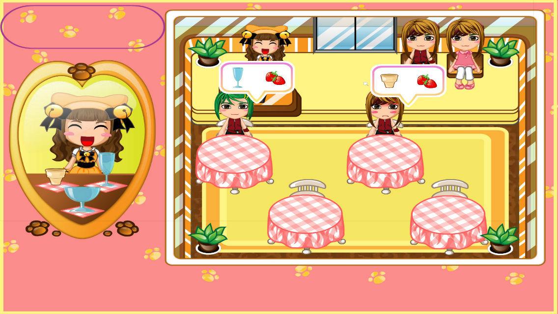 App shopper yellow cat ice cream pets restaurant