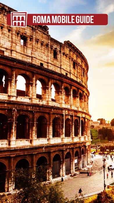 Rome Mobile Guide iPhone Screenshot 1