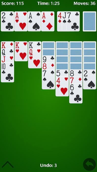 Screenshot 2 Solitaire Classic – Play klondike & Classics Card Games
