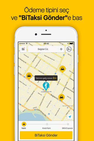 BiTaksi - Cebindeki Taksi screenshot 2
