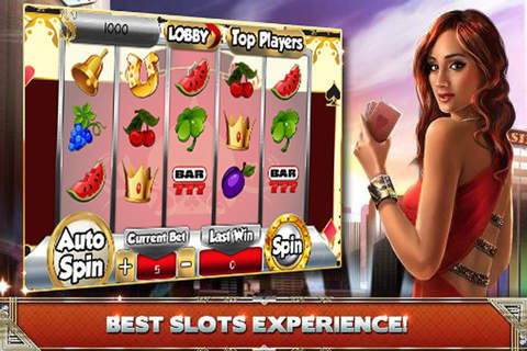 2016 Aces Fortune 777 Slots Machines FREE screenshot 1