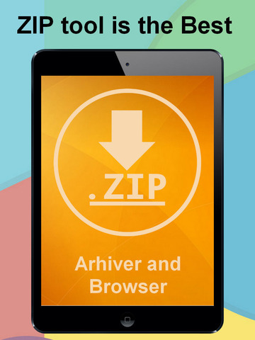 ZIP UnZIP Archiver App and Browser Screenshots