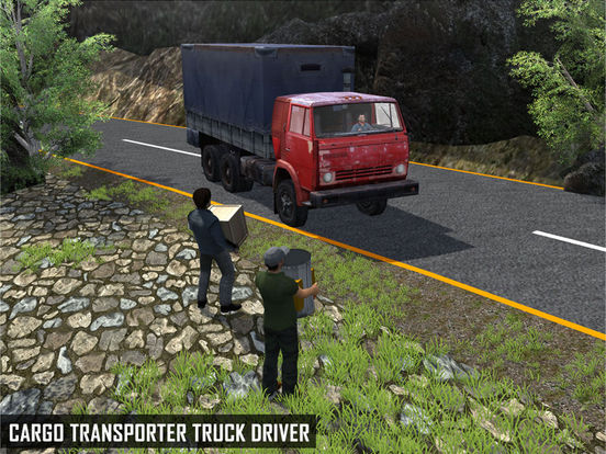 Off Road Cargo Truck Driver - Extreme mountain transporter truck driving для iPad