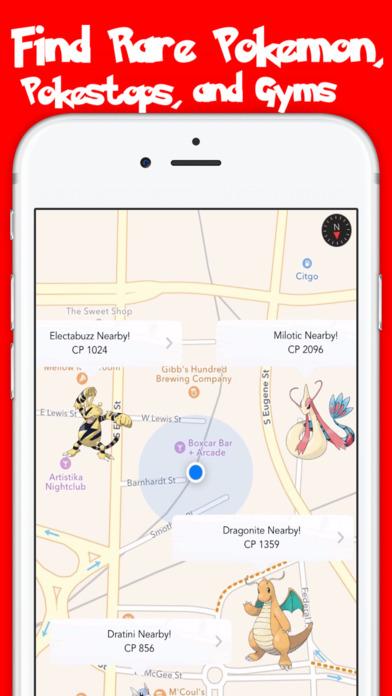 Pokemon GO Maps Pro - A Map Guide for Pokemon GO screenshot 1