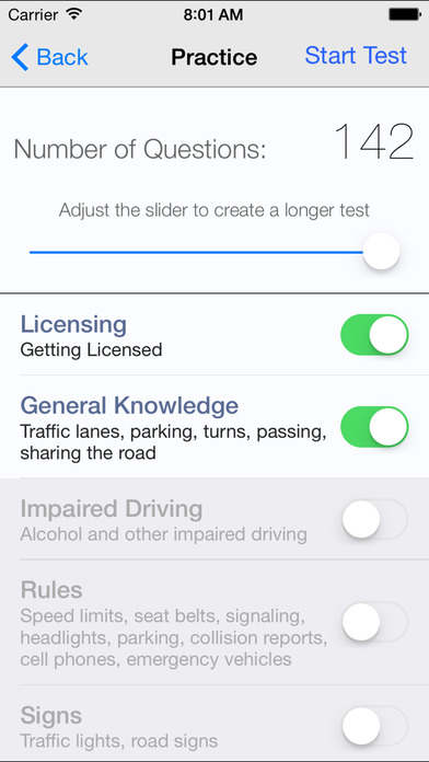 DMV Test Prep - Washington iPhone Screenshot 3