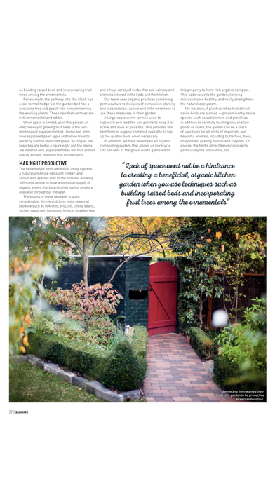 Backyard and garden design ideas australia s best for Garden design journal