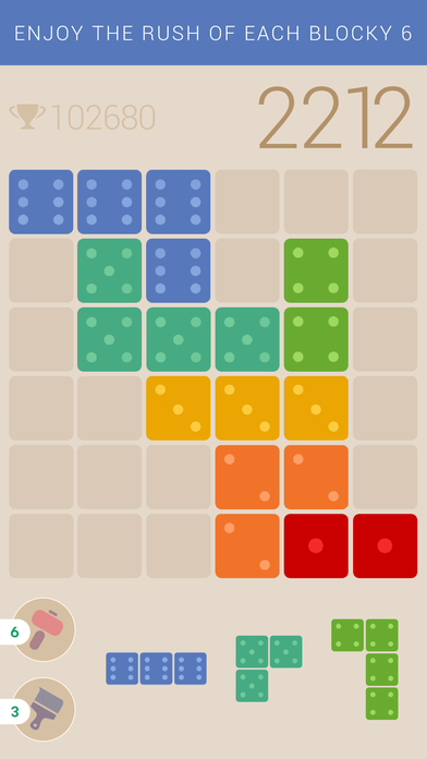 Blocky 6 - Endless Tile-Matching Puzzle Screenshot