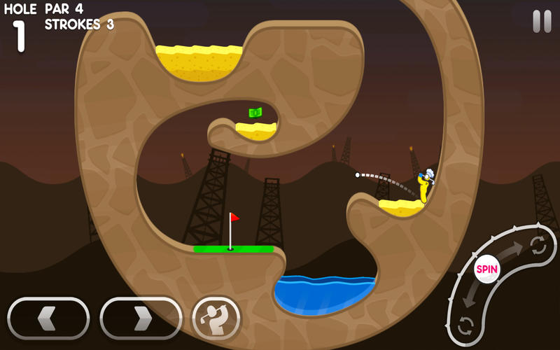 Super Stickman Golf 3 Screenshot - 2